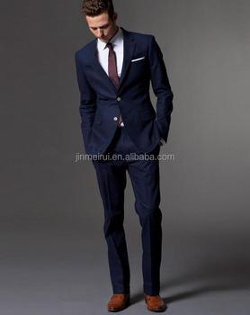 Vestito Matrimonio Uomo Blu : Su misura blu scuro abito su misura da uomo su misura abito su
