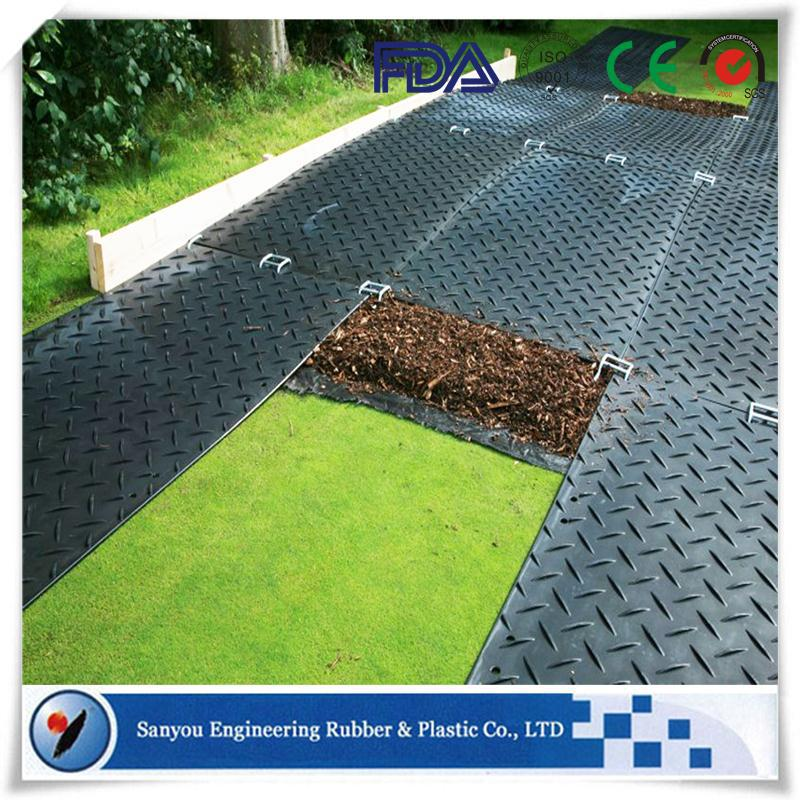 Heating Resistant Ground Protection Temporary Roadways From Sanyou