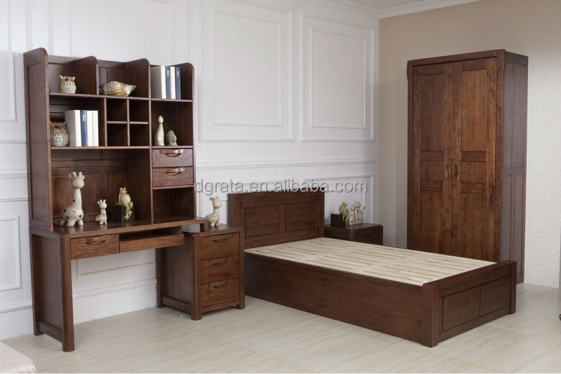 2014 Latest wooden bedroom furniture designs was made from American ash  wood for bedroom furniture sets