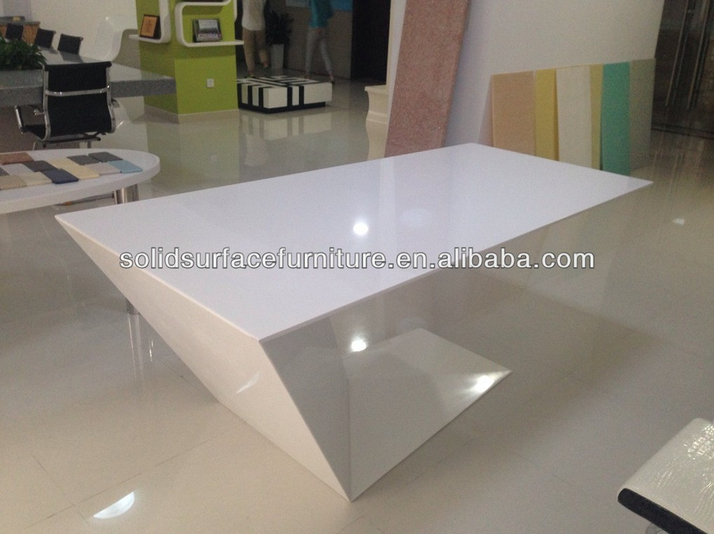 Made In China Modern Glass Desk Office Furniture