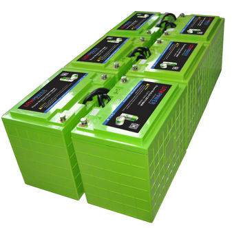 Deep Cycle Power Lifepo4 48 Volt Lithium Battery For Golf ...