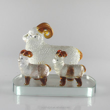 Sanyangkaitai crafts crystal ornaments sheep modern fashion Home Furnishing Decor