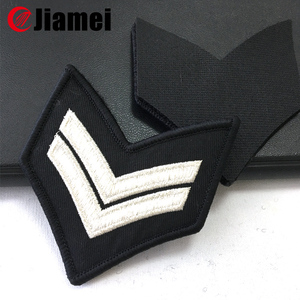 lime corporal stripes rank insignia chevron army uniform embroidered patch