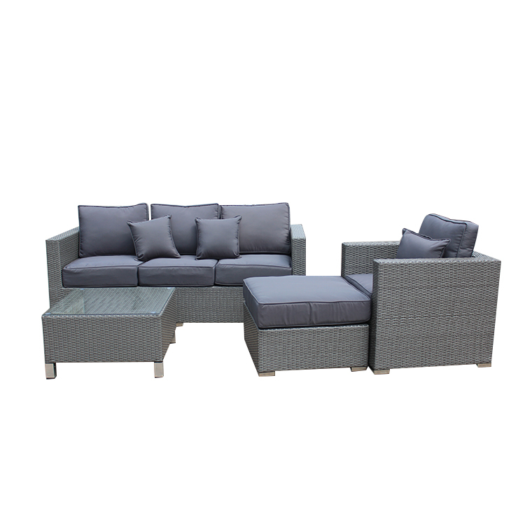 Outdoor Plastic Sofa Garden Furniture Set