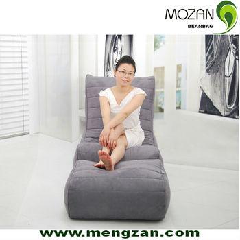 Living Room Furniture Of Leather Bean Bag Sofa Bags