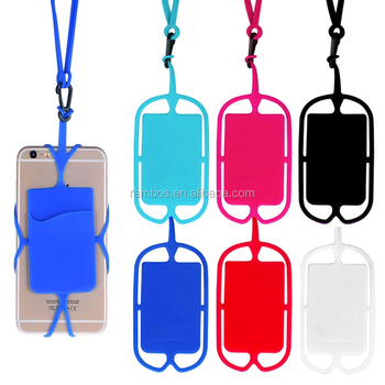 reputable site 86d1a 872c5 New Silicone Lanyard Cell Phone Holder Case Cover Sling Necklace Wrist  Strap For Sony Xz Xz Premium Z5 - Buy Lanyard Phone Holder,Lanyard For Cell  ...