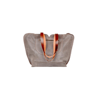 Wholesale monogram oversize leather tote bag