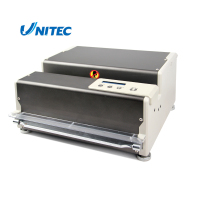 Easy operate hard cover channel binding machine