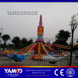 China new design rotating airplane toy carnival pneumatic system amusement rides for sale