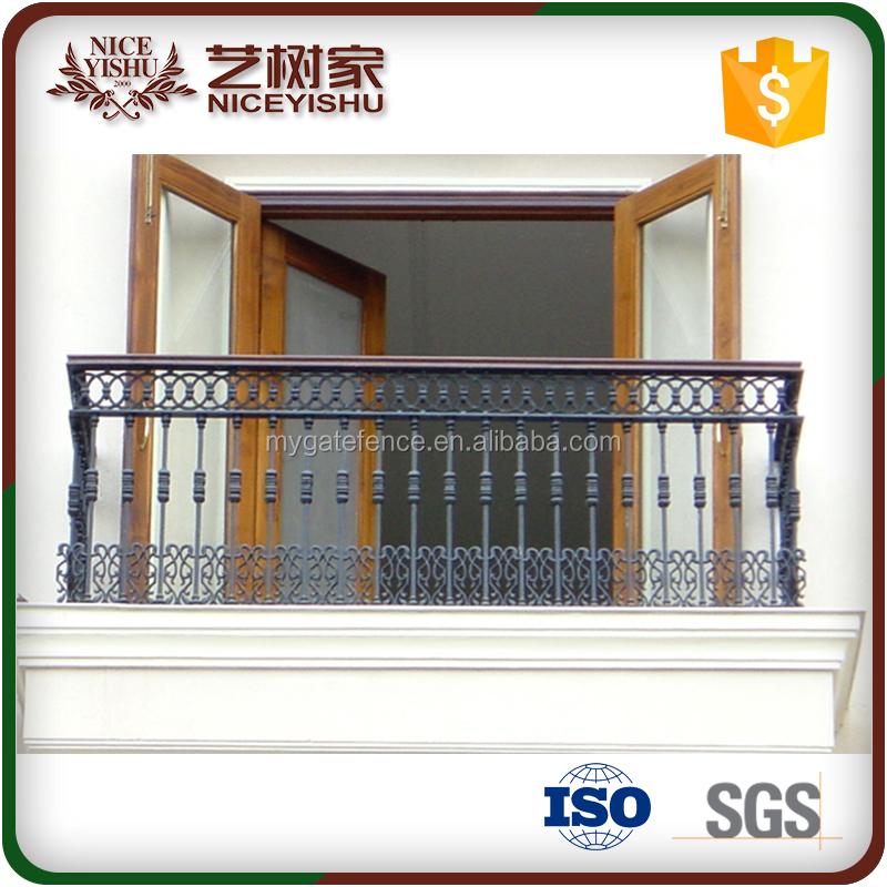 Balcon ext rieur barri re portes en fer forg acier for Porte fer forge exterieur