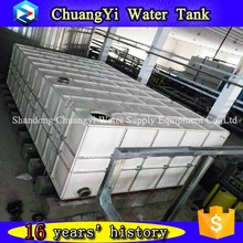 warranty 5 years small plastic/polyester resin water tank,water storage tank 20000 liter