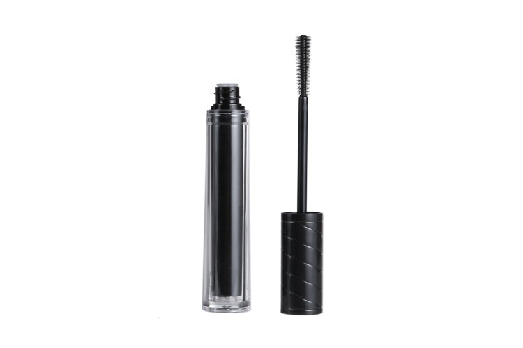 b263b3f87c3 Black Rounded Mascara Tube With Fiber Brush - Buy Black Mascara Tube ...