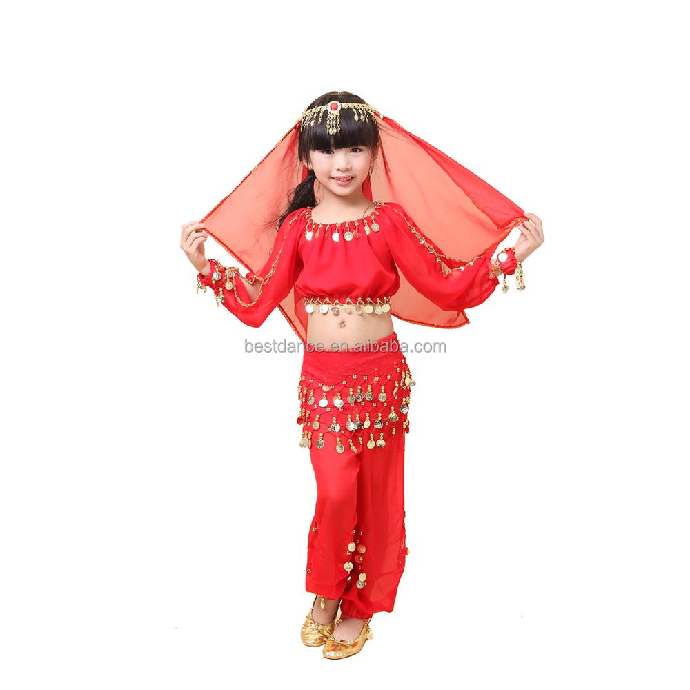 Bestdance Children Belly Dance Costumes Sets Hot Girl Dance Wear For Kid Girl - Buy -1040