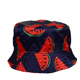 Outdoor fisherman hat starry sky fashion shade big fruit printing sun hat cap hat ladies leisure