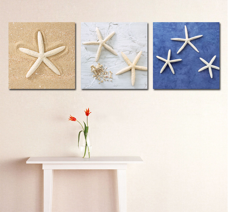 Free shipping decorative painting - starfish