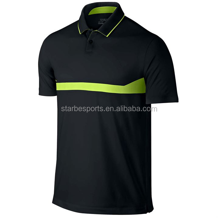 2015 custom new mens dry fit golf shirt buy in bulk golf polo shirt plus size wholesale