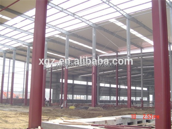 anti-seismic custom made steel structure storage shed
