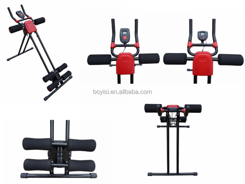 LCD display + High quality AB Abdominal Trainer Body Crunch