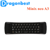 high quality Minix neo A3 Wireless air mouse remote control for europ ott user manual Keyboard with Voice