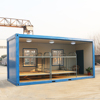 steel prefab house prefabricated house container in Uruguay