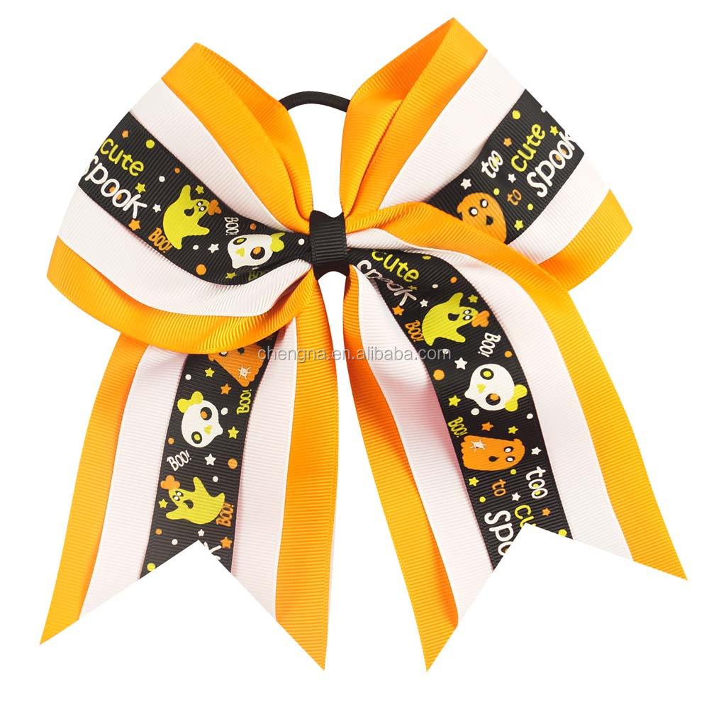 Halloween Cheer Bows