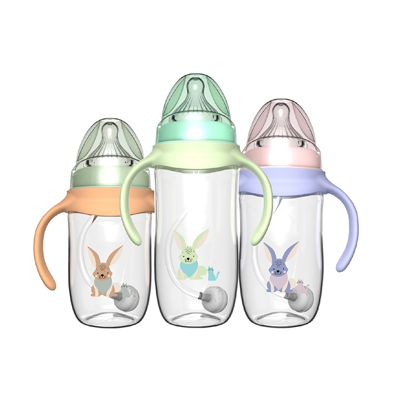 ¡Venta al por mayor! biberón Tritan ecológico sin BPA con asa