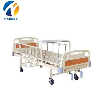 AC-MB042 2cranks cheap hot selling medical equipment bed design furniture hospital bed for prices