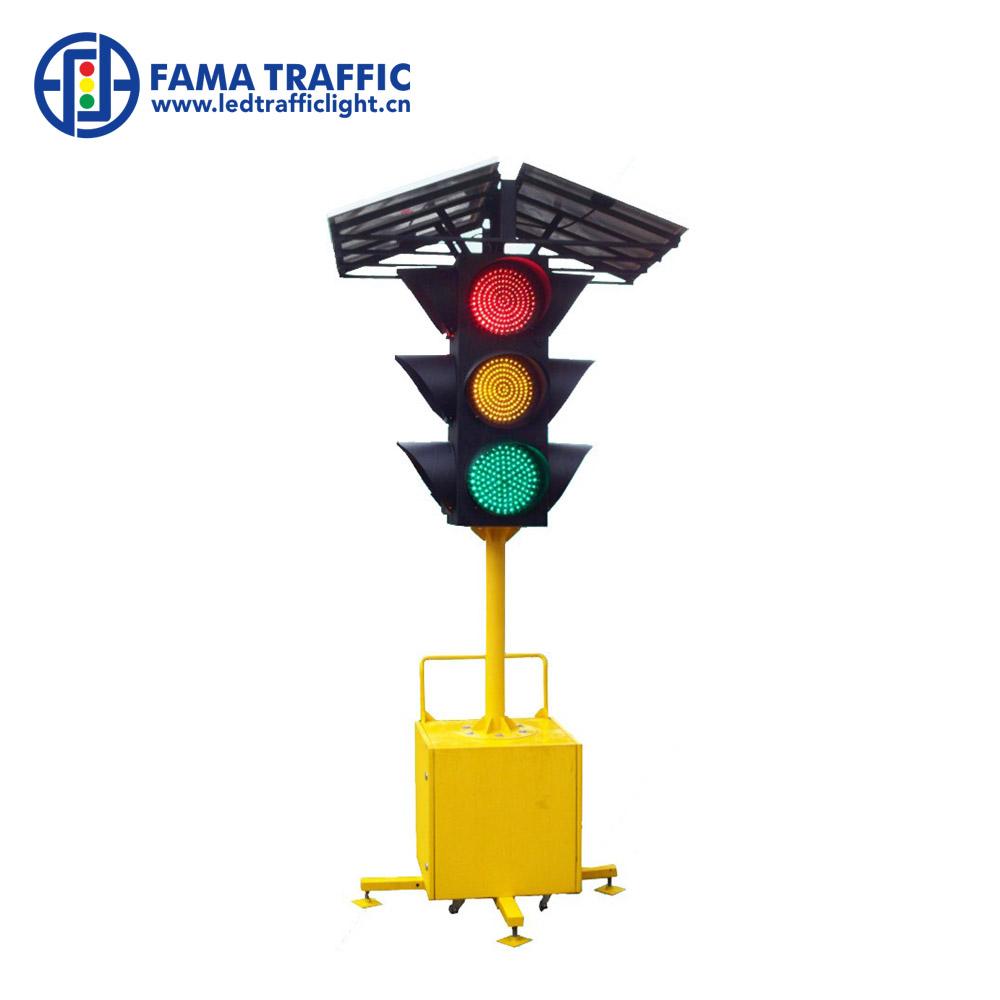 Special Section Easy Installation High Brightness Red Led Light Single 200mm Pc Housing Traffic Signal Light Traffic Light
