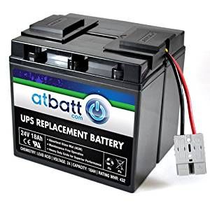 Pirate Battery RBC7 Replacement Battery for APC SU1250RM SU1400BX120 SU1400NET SU1400X106