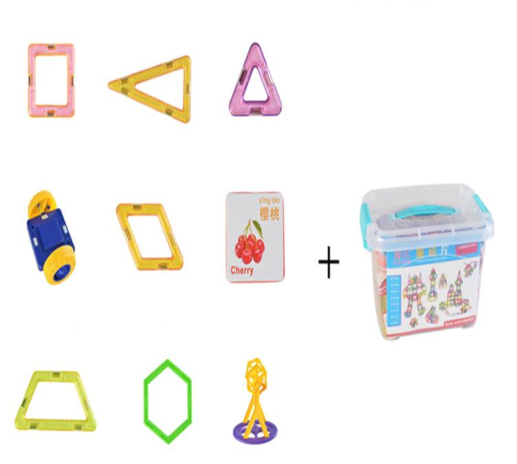 Develop children's intelligence magnetic building blocks