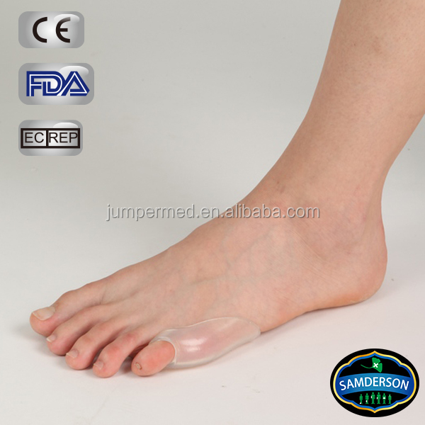 Silicone Toe Separators and gel toe protector, toe pad