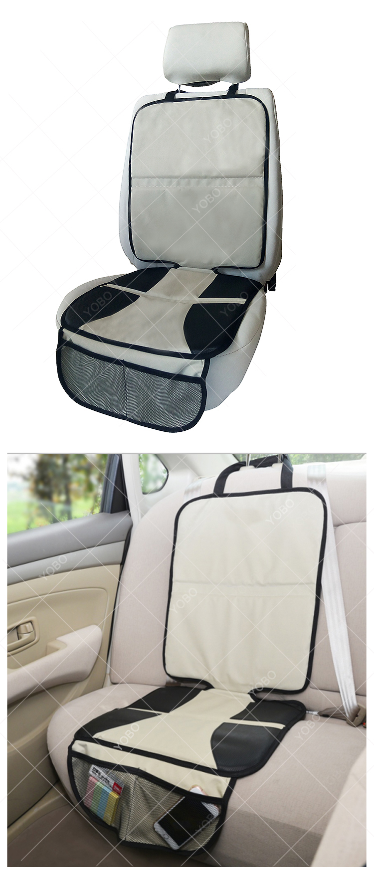Best price factory supply Car Seat Back Protector cover babies baby car seat cover