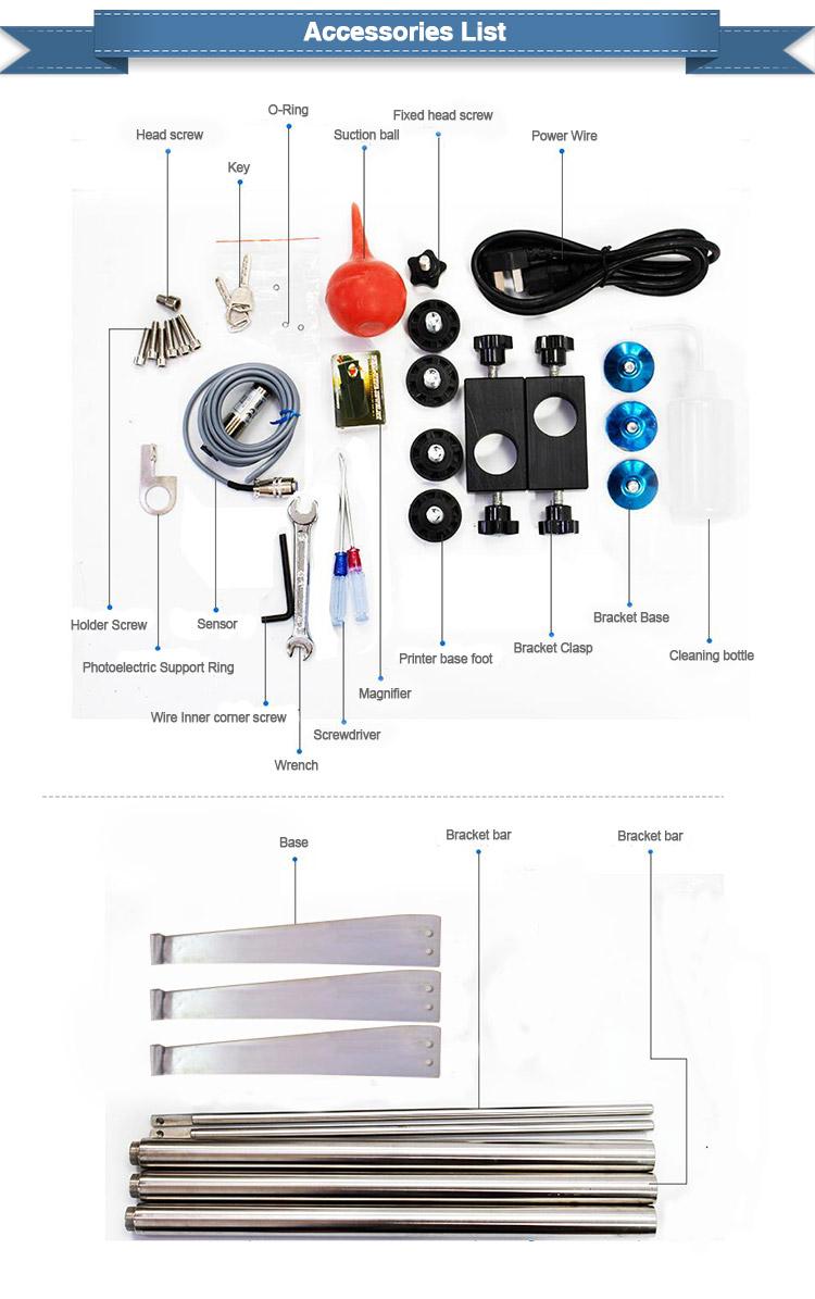 Gelbe Tinte PVC-PP-Kabeldraht Small Character-Endloscode für industrielle Tintenstrahldrucker