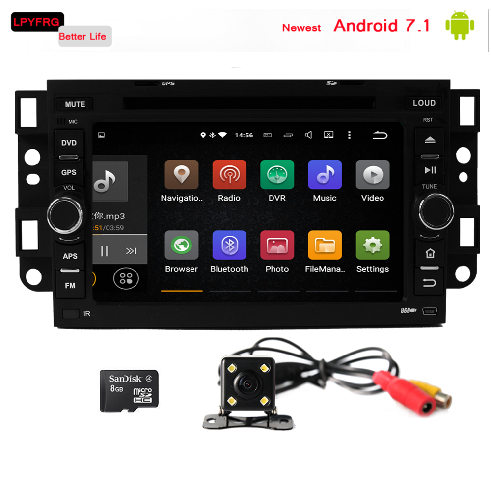 8/4 Core Android 6.0/7.1 auto Car radio multimedia dvd for Chevrolet Matiz Eco Logic Italy Chevrolet Joy Pontiac Matiz G2