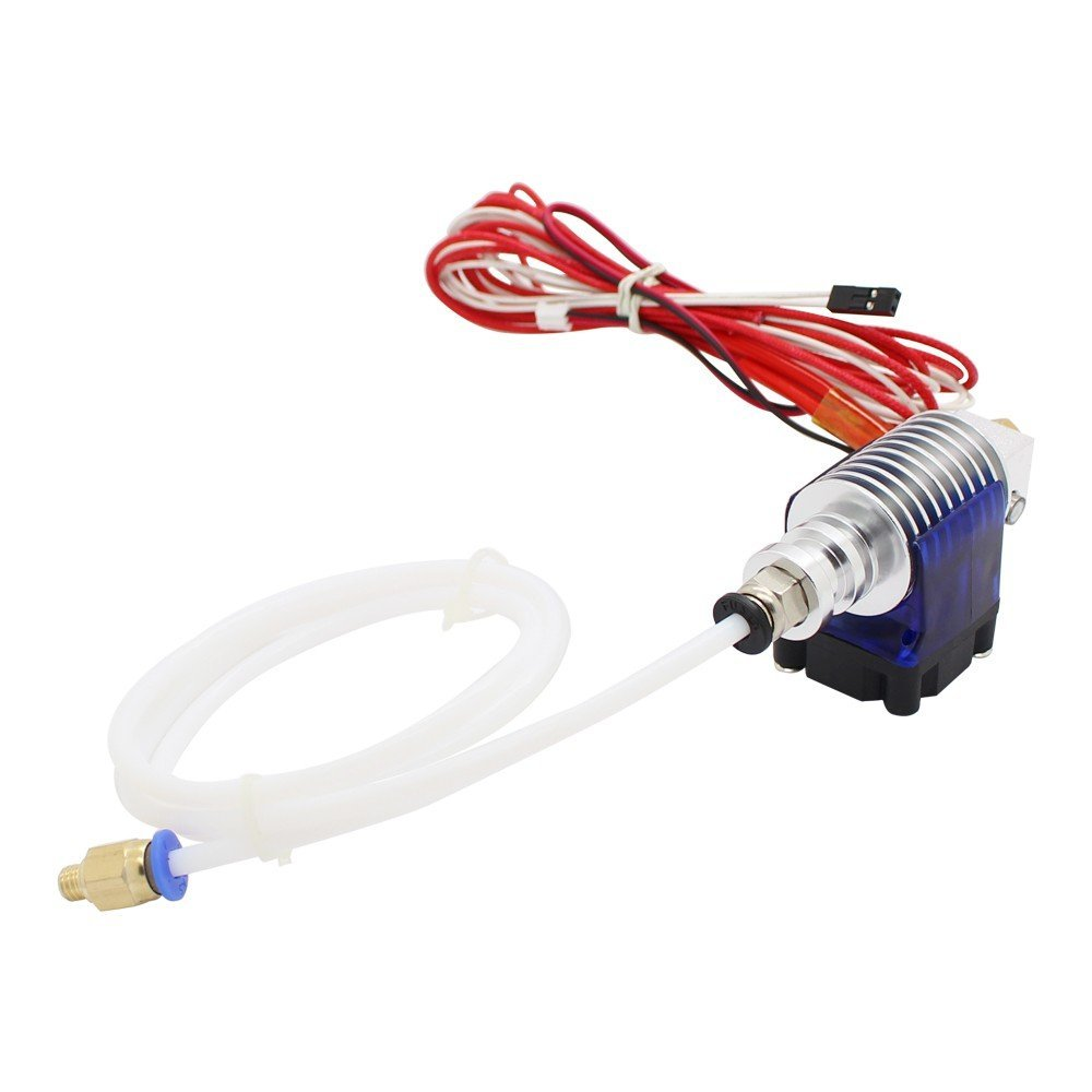 Bluedophin 3D Printer V5 J-head Hotend with Single Cooling Fan for 1.75mm Direct Filament Wade Extruder 0.3/0.4/0.5mm Nozzle