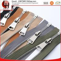 3# 5# continuous high quality close ended brass metal zippers for children garment