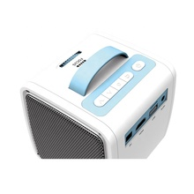Q2 LCD <span class=keywords><strong>Mini</strong></span> <span class=keywords><strong>Proyektor</strong></span> Full HD 1080P Video 700 LM 320X240 Pixel Home Theater Projector Dual <span class=keywords><strong>Speaker</strong></span> untuk TV Laptop USB TF Card