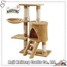 Factory Directly Quality-Assured Latest Design Deluxe Cat Furnitures Of Cat Tree
