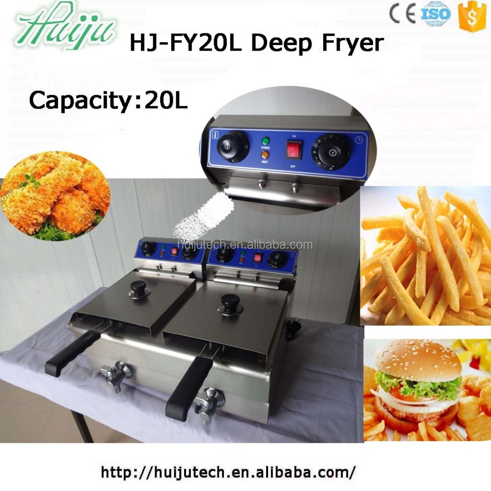 High quality electric deep fryer HJ-FY20L deliver to your home