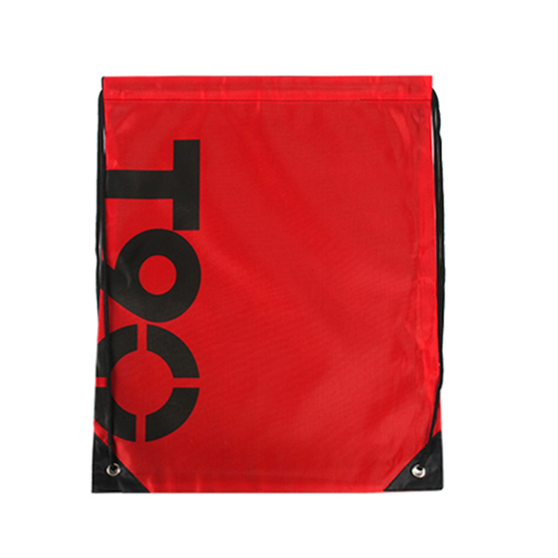 High quality fashion waterproof polyester drawstring backpack