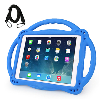 Wholesale price kids eva shockproof super protection cover handle stand case for iPad 5 6 7 9.7 inch tablet