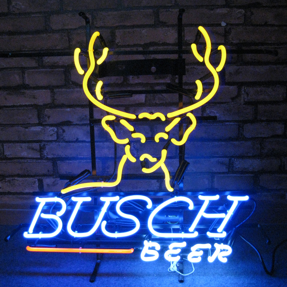 Busch Beer Used Neon Bar Beer Signs For Sale Neon Bar Beer