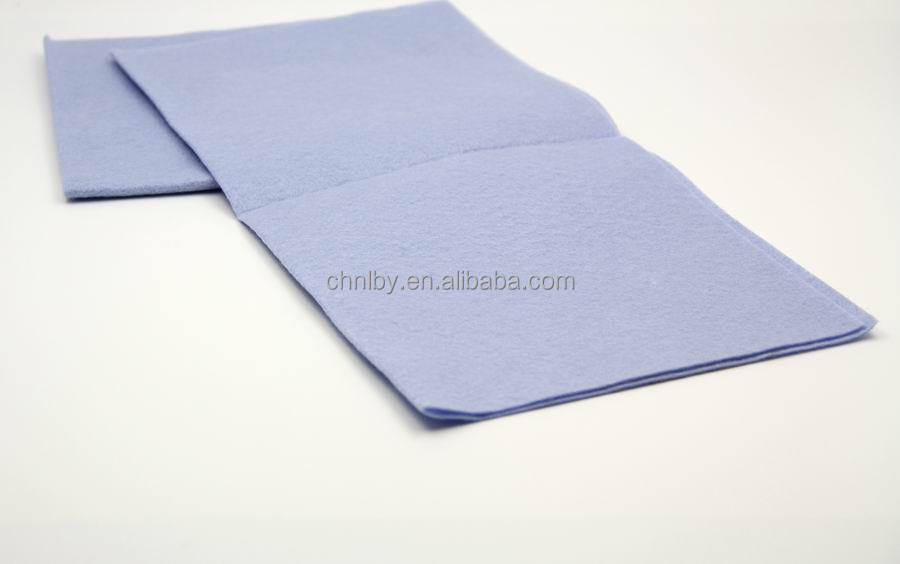 best quality needle punched fabric nonwoven cleaning cloth