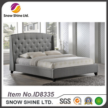 2017 Hot New Product click clack queen bed for kids wood headboard ID8335