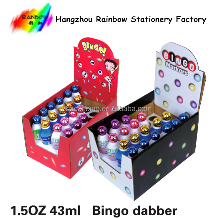 2016 hot selling Dab marker and Dot markers Set Washable Paint Marker Dabbers for Bingo