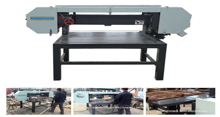 Wooden Pallet Nail Remover Horizontal Band Saw Machine For ...