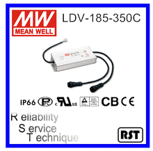 LDV-185-350C Multiple Channel Output Switching Mean Well 185W 350mA Power Supply