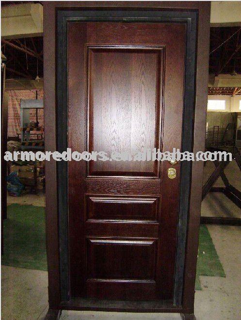 italia principal de seguridad de madera puertas de entrada buenas puertas
