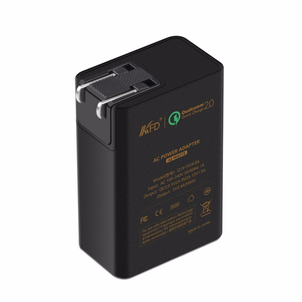 2016 New 3PORT QC2.0 wall charger 42W USB charger For Samsung for LG for Google
