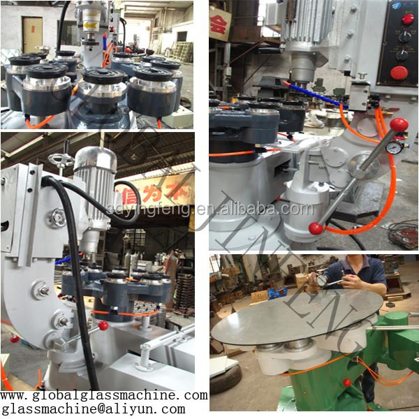 JFS-151 glass special shape grinding machine for Flat and round and OG and Bevel edge processing